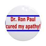 Ron Paul cure-4 Ornament (Round)