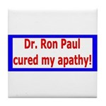 Ron Paul cure-4 Tile Coaster