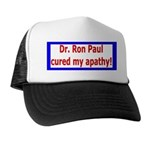 Ron Paul cure-4 Trucker Hat