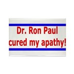 Ron Paul cure-4 Rectangle Magnet