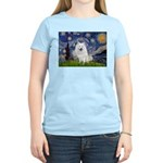 Starry-Am. Eskimo Dog Women's Light T-Shirt