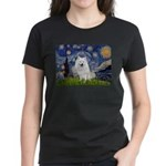 Starry-Am. Eskimo Dog Women's Dark T-Shirt