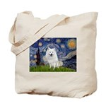 Starry-Am. Eskimo Dog Tote Bag