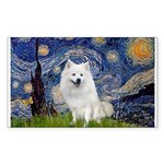 Starry-Am. Eskimo Dog Sticker (Rectangle)