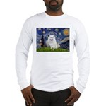 Starry-Am. Eskimo Dog Long Sleeve T-Shirt