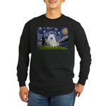 Starry-Am. Eskimo Dog Long Sleeve Dark T-Shirt