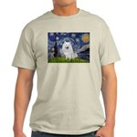 Starry-Am. Eskimo Dog Light T-Shirt