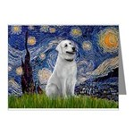 Starry-AnatolianShep1 Note Cards (Pk of 10)