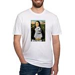 MonaLis-Anatolian Shep1 Fitted T-Shirt
