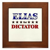 ELIAS for dictator Framed Tile