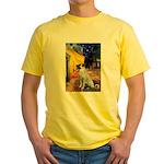 Cafe-AnatolianShep2 Yellow T-Shirt
