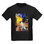 Cafe-AnatolianShep2 Kids Dark T-Shirt