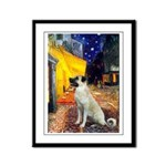 Cafe-AnatolianShep2 Framed Panel Print