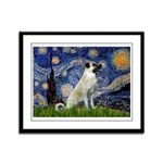 Starry-AnatolianShep 2 Framed Panel Print