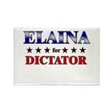 ELAINA for dictator Rectangle Magnet