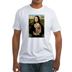 Mona / Australian T Fitted T-Shirt