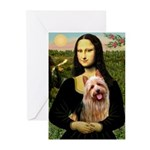 Mona / Australian T Greeting Cards (Pk of 20)