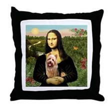 Mona / Australian T Throw Pillow