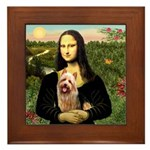 Mona / Australian T Framed Tile