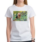 Irises - Aussie Terrier Women's T-Shirt
