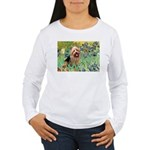 Irises - Aussie Terrier Women's Long Sleeve T-Shir