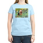 Irises - Aussie Terrier Women's Light T-Shirt
