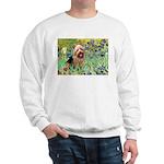 Irises - Aussie Terrier Sweatshirt