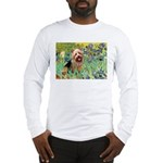 Irises - Aussie Terrier Long Sleeve T-Shirt