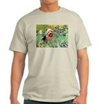 Irises - Aussie Terrier Light T-Shirt