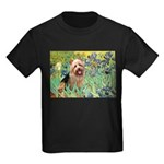 Irises - Aussie Terrier Kids Dark T-Shirt