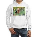 Irises - Aussie Terrier Hooded Sweatshirt