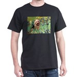 Irises - Aussie Terrier Dark T-Shirt