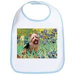 Irises - Aussie Terrier Bib