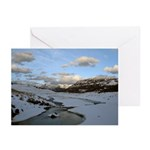 Yellowstone late in the day Greeting Cards (Pk of 