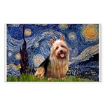 Starry-AussieTerrier Sticker (Rectangle)