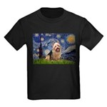 Starry-AussieTerrier Kids Dark T-Shirt