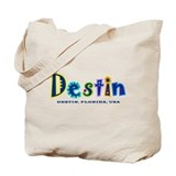 Destin Tropical Type - Tote Bag