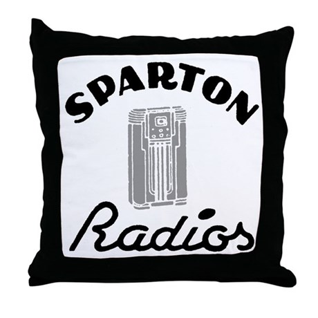 Sparton Radios Throw Pillow