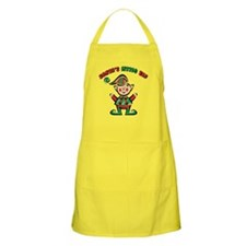 SANTA'S LITTLE ELF BBQ Apron