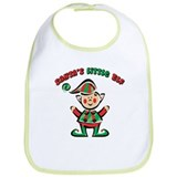 SANTA'S LITTLE ELF Bib