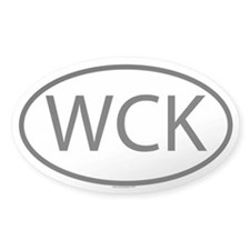 WCK Oval Decal