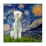 Starry / Bedlington Tile Coaster