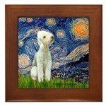 Starry / Bedlington Framed Tile