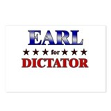 EARL for dictator Postcards (Package of 8)