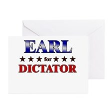 EARL for dictator Greeting Cards (Pk of 20)