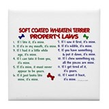 Soft Coated Wheaten Terrier Property Laws 2 Tile C