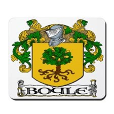 Boyle Coat of Arms Mousepad