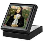 Mona / Bedlington(T) Keepsake Box