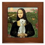 Mona / Bedlington(T) Framed Tile