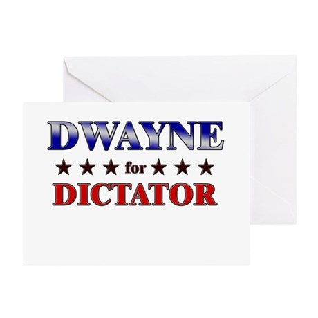DWAYNE for dictator Greeting Cards (Pk of 10)